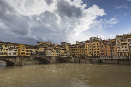 hdri: Bridge Ponte Vecchio in Florence, Italy