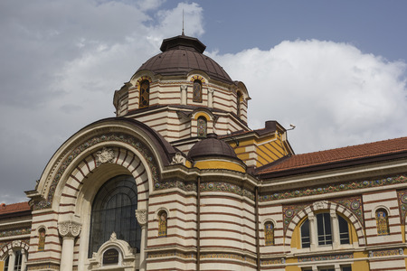 bath house: Central public mineral bath house in Sofia, Bulgaria Editorial