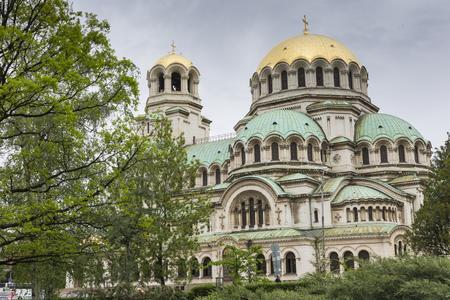 sofia: The Alexander Nevsky Cathedral in Sofia, Bulgaria Editorial