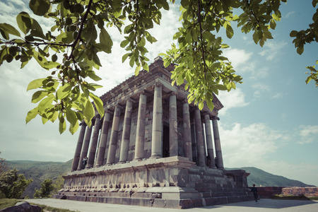 pagan: Ancient Garni pagan Temple, the hellenistic temple in Armenia