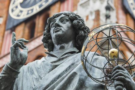 astronomer: Monument of great astronomer Nicolaus Copernicus, Torun, Poland