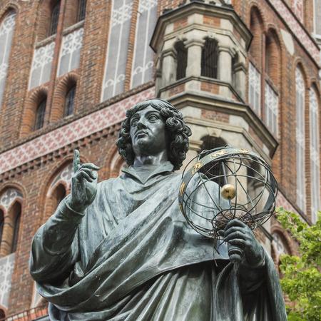 위대한 천문학 자 니콜라우스 코페르니쿠스, Torun, 폴란드의 기념물