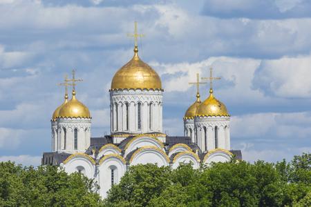 assumption: Assumption cathedral at Vladimir in summer Vladimir, Russia.