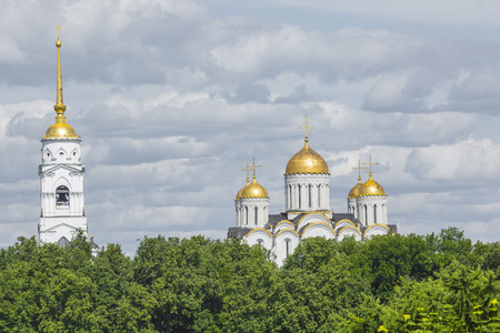 assumption: Assumption cathedral at Vladimir in summer, Vladimir, Russia.