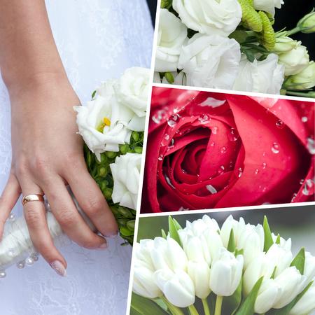 sensational: Collage of Wedding time sensational