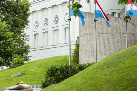 luxembourg: LUXEMBOURG CITY - LUXEMBOURG - JULY 01, 2016: Historic memorial.