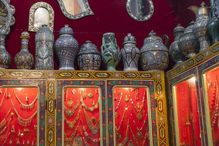 souvenir traditional: Traditional souvenir in the souk of Chefchaouen, Morocco