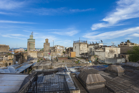 fas: Fez general view, Morocco