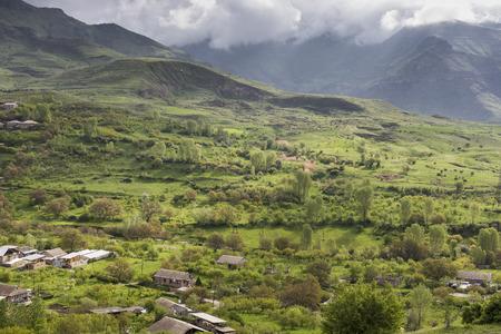 kyrgyzstan: Paisaje de montañas, Kirguistán
