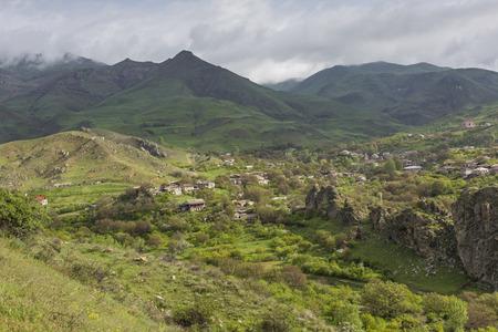 kyrgyzstan: Landscape with mountains, Kyrgyzstan