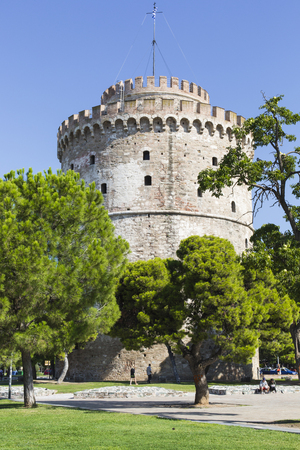 White Tower of Thessaloniki in Greece