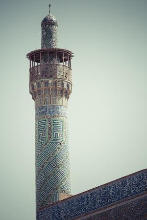 isfahan: Sheikh Lotfollah Mosque at Naqhsh-e Jahan Square in Isfahan, Iran