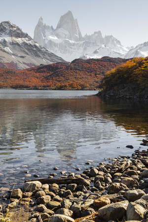 roy: Autumn in Fitz Roy Moutain, Patagonia, El Chalten - Argentina