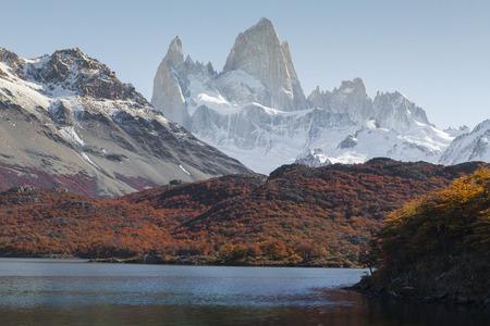 Autumn in Fitz Roy Moutain, Patagonia, El Chalten - Argentina