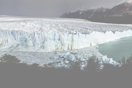 los glaciares: Glacier Perito Moreno, National Park Los Glasyares, Patagonia, Argentina