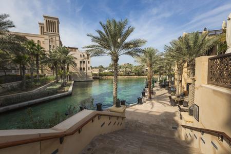 DUBAI, UAE - JANUARY 18, 2017 :View of the Souk Madinat Jumeirah, Dubai, UAE