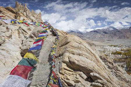 Naturlandschaft in Leh Ladakh, Jammu und Kaschmir, Indien