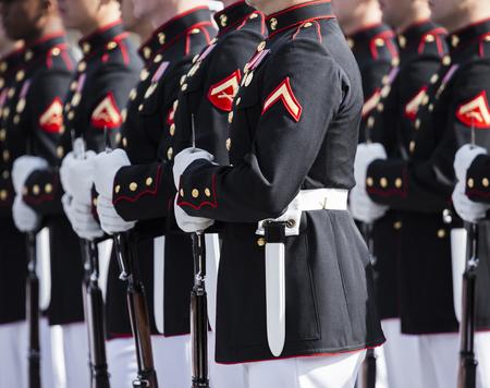 Cuerpo de Marines de los Estados Unidos Foto de archivo - 76055664