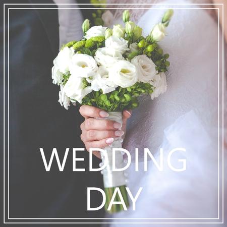 Wedding Day. Zdjęcie Seryjne