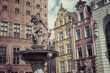 Old town of Gdansk,Poland.