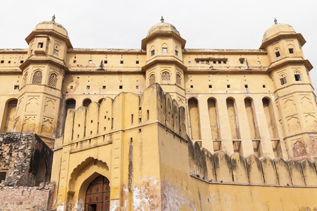 jagmandir: Amber Fort in Jaipur, Rajasthan, India Stock Photo