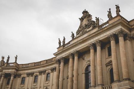 BERLIN, GERMANY - DECEMBER 06,2017: Humboldt University Berlin. Editorial