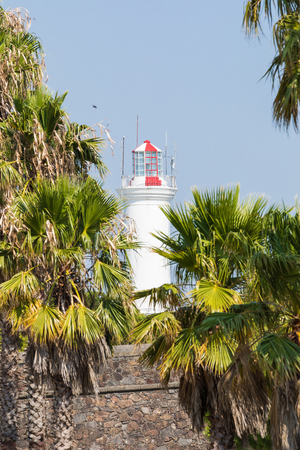 Lighthouse in Colonia del Sacramento, small colonial town, Uruguay. Imagens - 101220812