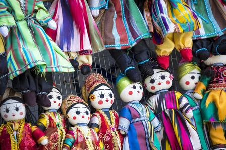 Traditional oriental doll in Bukhara Bazaar, Uzbekistan
