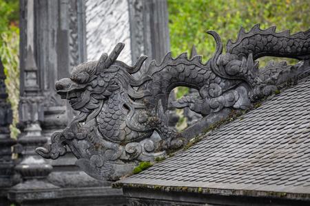 Imperial Khai Dinh Tomb in Hue, Vietnam.