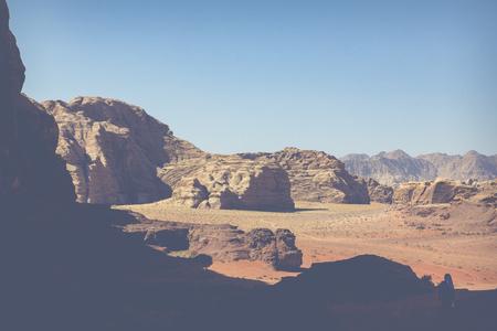 Wadi Rum Red Desert, Jordan, Middle East. Standard-Bild - 124316512