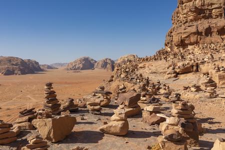Wadi Rum Red Desert, Jordan, Middle East. Standard-Bild - 124316577