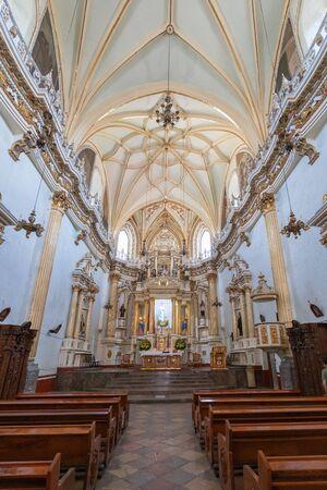 Convent of San Gabriel in Cholula, Mexico. Latin America.