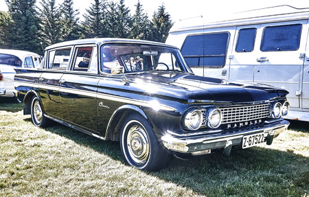 Froya Island Norway 24 July 2016 Side Of The Classic Rambler