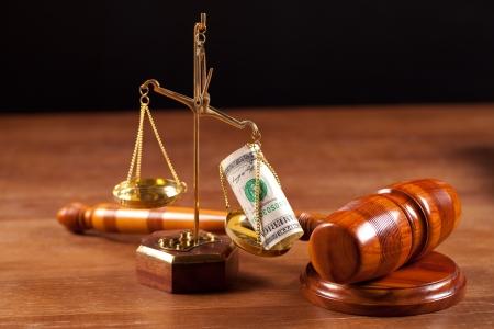 justice court: judge gavel   Stock Photo