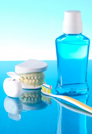 Dentista strumenti Archivio Fotografico - 13817869