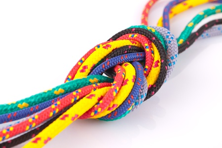 colorful knot  photo