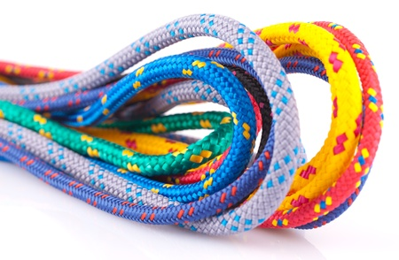colorful rope photo