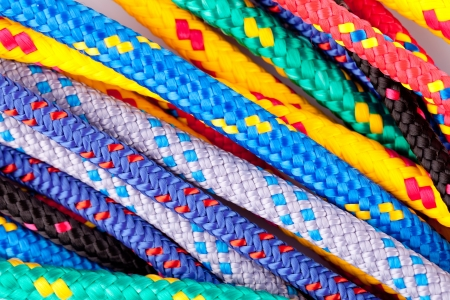 colorful ropes Stock Photo
