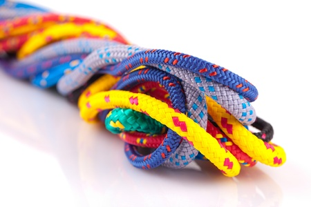 colorful ropes Stock Photo - 13767163
