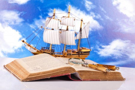 maritime adventure story Stock Photo