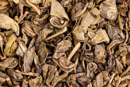 pekoe: dry green tea leaf