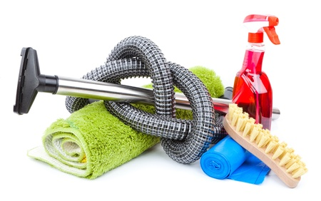 cleaning supplies: home cleaning