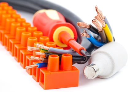 electrician s equipment  Stock Photo - 17458224
