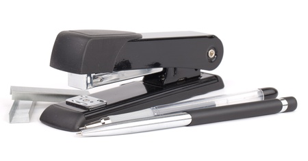 black stapler  photo