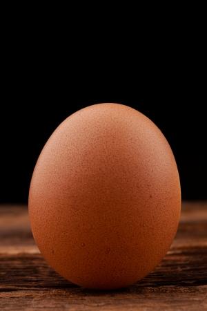 egg on black background Stock Photo - 18166391