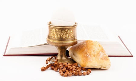 catholic mass: holy bread