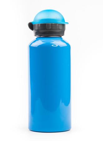 Bottiglia di acqua blu Archivio Fotografico - 24422821