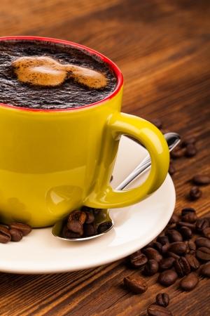 cin: cup off coffee  Stock Photo