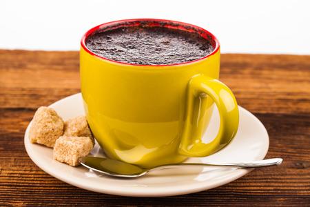 cin: cup of coffee Stock Photo