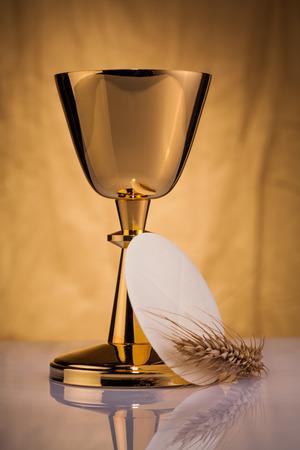 communion wafer: holy communion Stock Photo